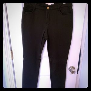 Michael Kors Black Work Pants. Size 8. Stretchy.